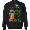 Dogs - Dachshund Happy St Patricks Day PHOEBE020217