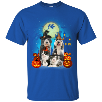 Bearded Collie Family Halloween