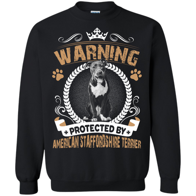 American Staffordshire Terrier Warning