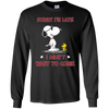 SNOOPY - Sorry I'm Late I Didn't Want To Come -PONTUS291249