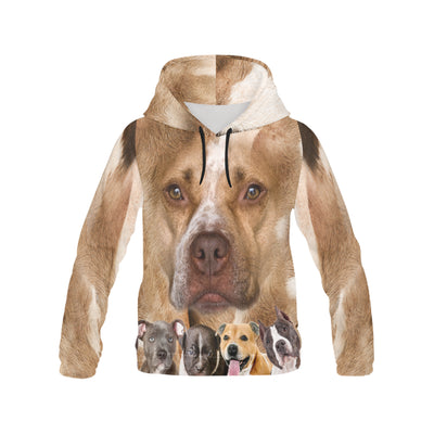 American Pit Bull Terrier Awesome All Over Print Hoodie