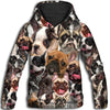 French Bulldog All Over Print Hoodie