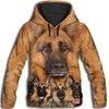 German Shepherd Awesome All Over Print Hoodie