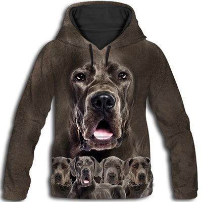 Great Dane Awesome All Over Print Hoodie