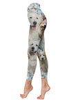 Great Pyrenees Pattern Low Rise Legging 130318