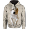 Great Pyrenees Face All Over Print Full Zip Hoodie ZEUS030151