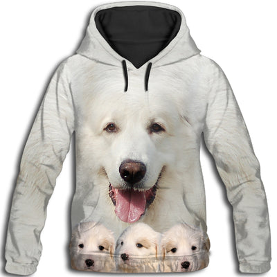 Great Pyrenees Awesome All Over Print Hoodie