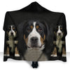 Greater Swiss Mountain Dog Face Hooded Blanket ZEUS2901