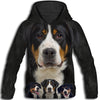 Greater Swiss Mountain Dog Awesome All Over Print Hoodie