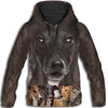 Greyhound Awesome All Over Print Hoodie
