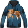 American Pit Bull Terrier Cool All Over Print Hoodie GAEA191257