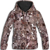 Italian Greyhound All Over Print Hoodie