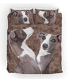 Italian Greyhound Couple Bedding ZEUS151232