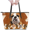 Bulldog Awesome Leather Bag ZEUS121291
