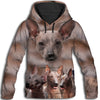 Mexican Hairless Dog Awesome All Over Print Hoodie