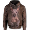 Mexican Hairless Dog Face All Over Print Full Zip Hoodie ZEUS020151