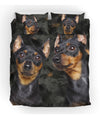 Miniature Pinscher Couple Bedding ZEUS161276