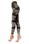 Miniature Schnauzer Pattern Low Rise Legging 130320