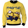 Minions - Minions It Was Not Me All Over Print Crewneck Sweatshirt - PHOEBE040108