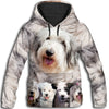 Old English Sheepdog Awesome All Over Print Hoodie
