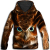 Owl - Owl Light All Over Print Hoodie - PHOEBE050107