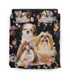 Shih Tzu Small Pattern Bedding ZEUS11014