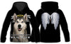 Siberian Husky In My Heart All Over Print Hoodie ZEUS211205