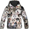 Siberian Husky All Over Print Hoodie