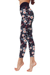Flower Art 9 Low Rise Leggings ZEUS060149