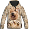 Soft Coated Wheaten Terrier Awesome All Over Print Hoodie