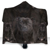 Staffordshire Bull Terrier Face Hooded Blanket ZEUS2901