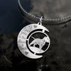 Dogs Staffordshire Bull Terrier Freeform Necklace ZEUS280209