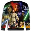 Star Wars - Star Wars All Over Print Crewneck Sweatshirt - PHOEBE261206