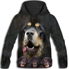 Tibetan Mastiff Awesome All Over Print Hoodie