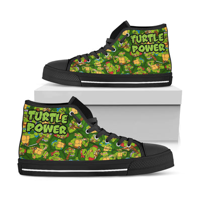 Ninja Turtle - Turtle Power High Top Shoes - PHOEBE141201