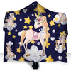 Unicorn - Flower Hooded Blanket PHOEBE010216