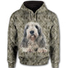 Wirehaired Pointing Griffon Face All Over Print Full Zip Hoodie HEMERA1701