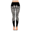 Wolf - Wolf Zentangle Low Rise Legging - PHOEBE030118