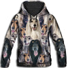 Afghan Hound All Over Print Hoodie - PRINTMAZING