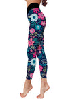 Flower Art 5 Low Rise Leggings ZEUS060145