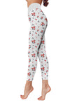 Flower Art 1 Low Rise Leggings ZEUS060140