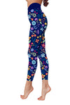 Flower Art 4 Low Rise Leggings ZEUS060144