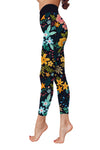 Flower Art 6 Low Rise Leggings (Invisible Stitch) (Model L05)