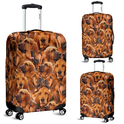 Bloodhound Awesome Luggage Covers 2103