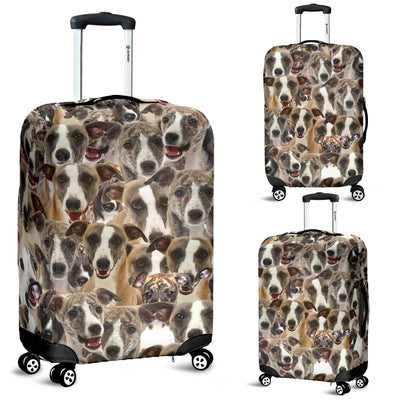 Whippet Awesome Luggage Covers 2103
