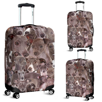 Italian Greyhound Awesome Luggage Covers 2103