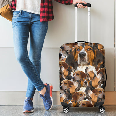 FULL TIBETAN TERRIER LUGGAGE COVER 2203