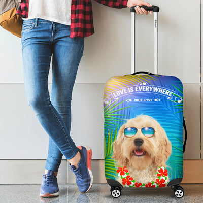 Cockapoo Beach Luggage Covers 2203