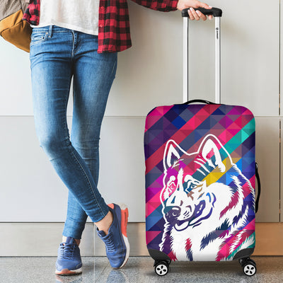 COLORFUL GERMAN SHEPHERD LUGGAGE COVER 1903