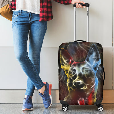 Belgian Shepherd Light Luggage Cover 0204